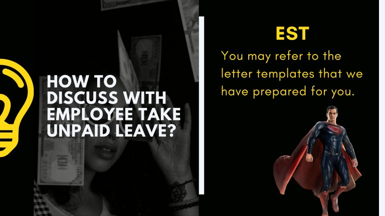 Guide for Employer To Assign Unpaid Leave To Employee (Template 2020)